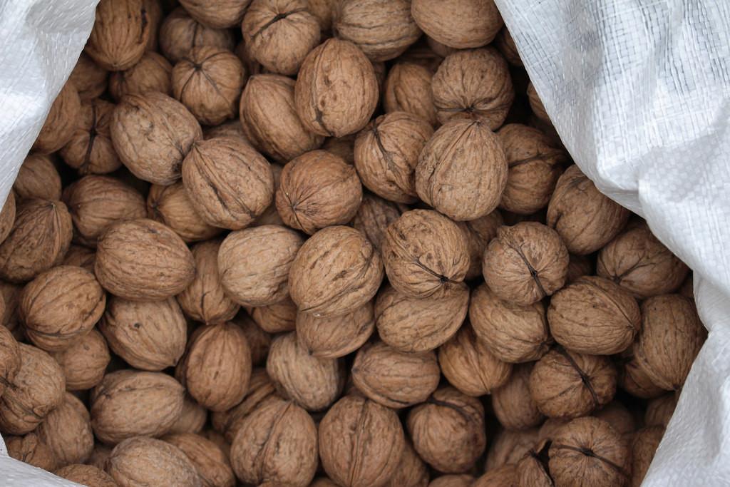 Superfood Raw Organic Walnuts and Vitamin E